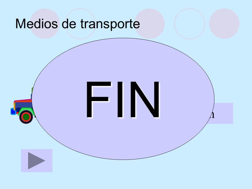 Medios de transporte FIN el camión