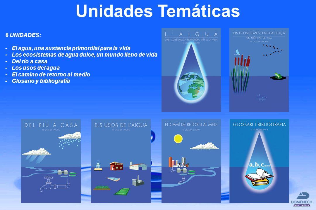 Unidades Temáticas 6 UNIDADES: