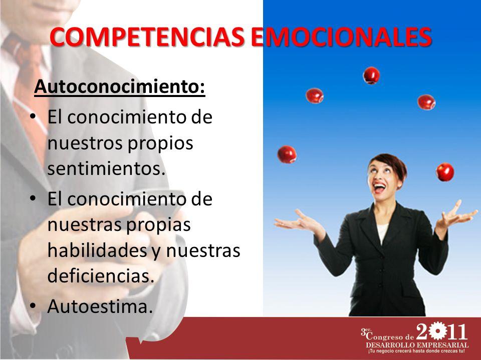 COMPETENCIAS EMOCIONALES