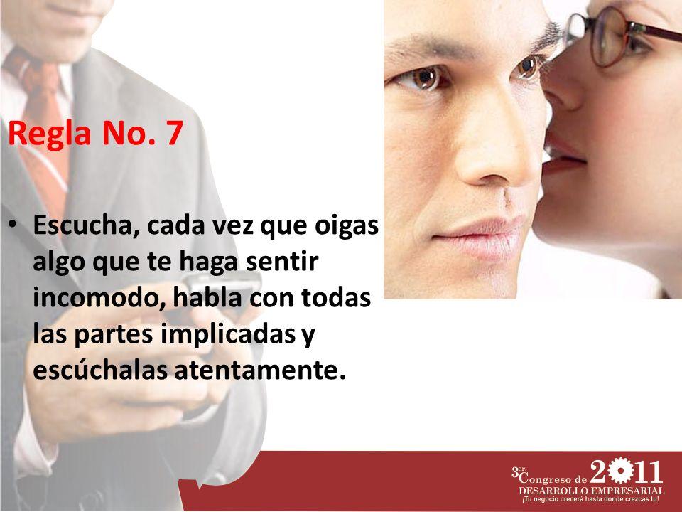 Regla No.