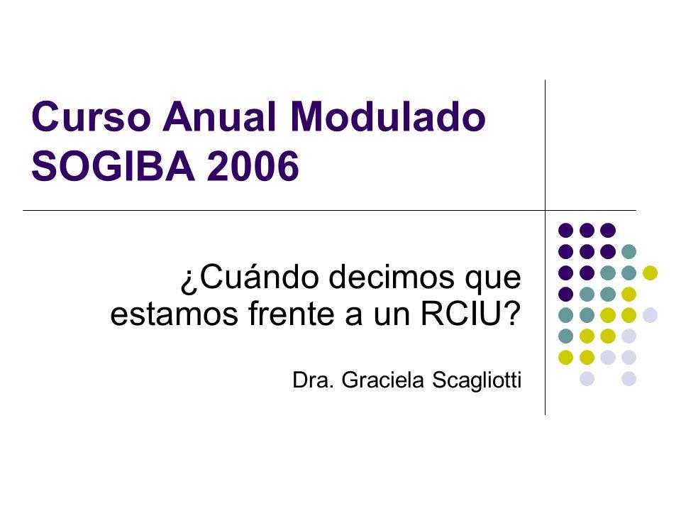 Curso Anual Modulado SOGIBA 2006
