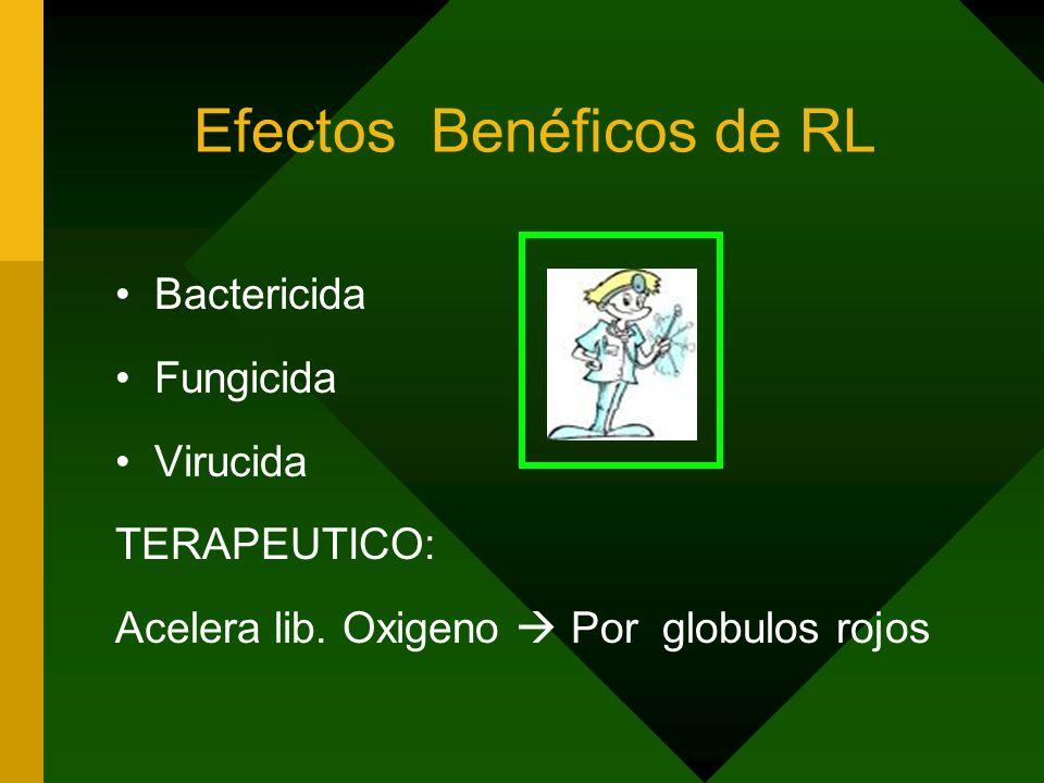 Efectos Benéficos de RL