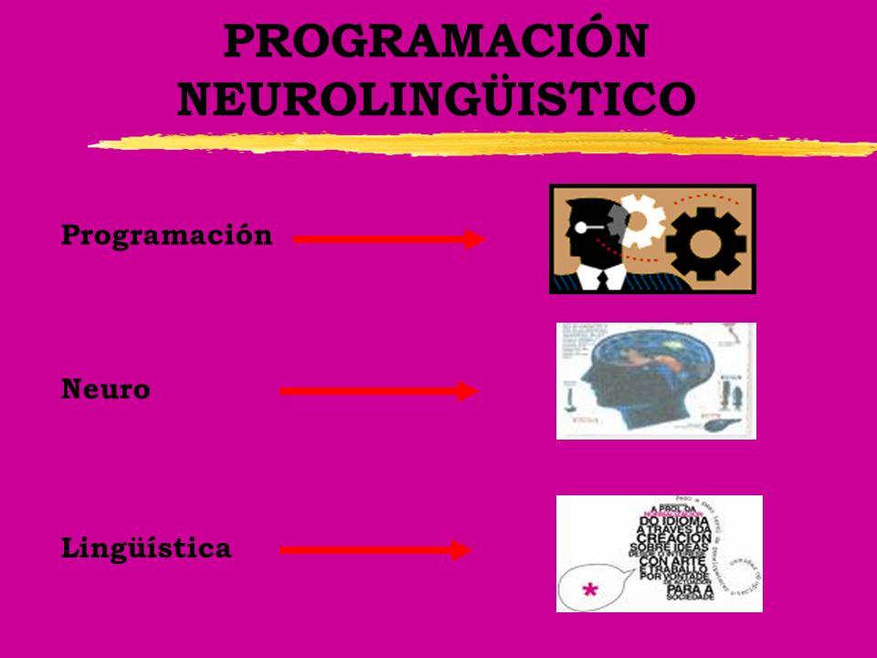 PROGRAMACIÓN NEUROLINGÜISTICO