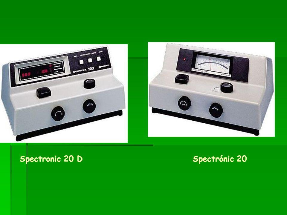 Spectronic 20 D Spectrónic 20