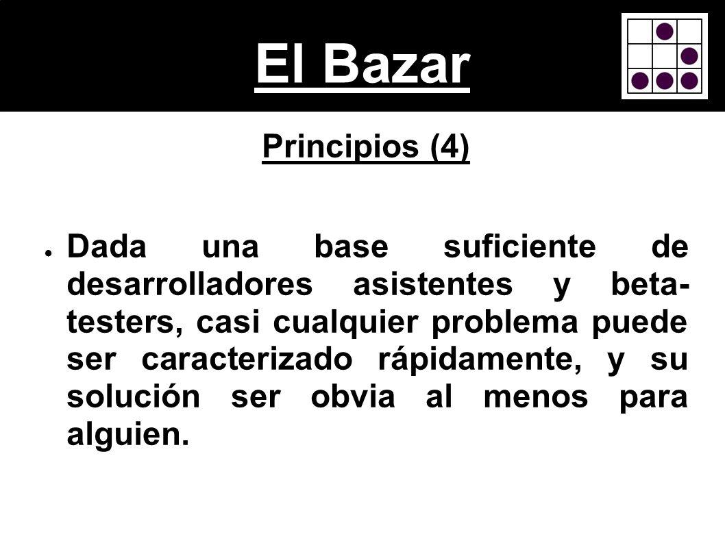 El BazarPrincipios (4)