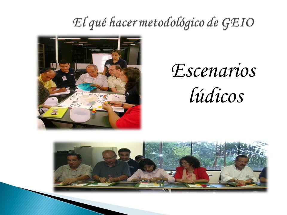 El qué hacer metodológico de GEIO