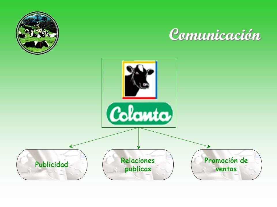 Comunicación Publicidad Relaciones publicas Promoción de ventas