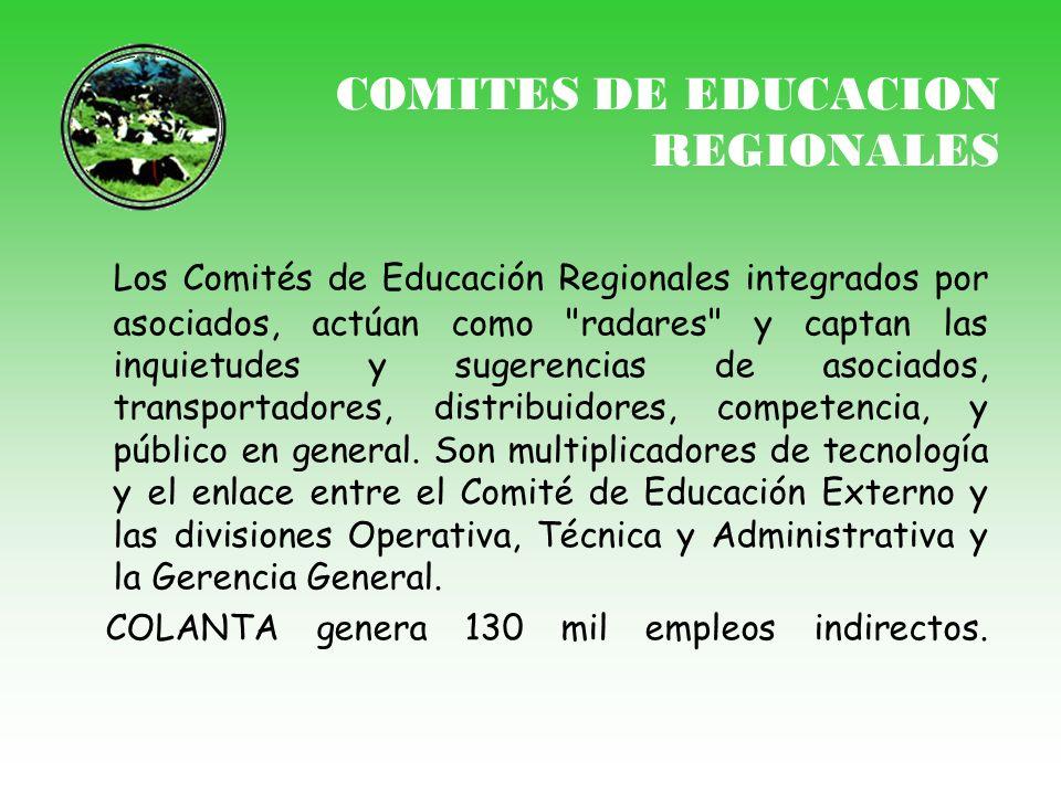 COMITES DE EDUCACION REGIONALES