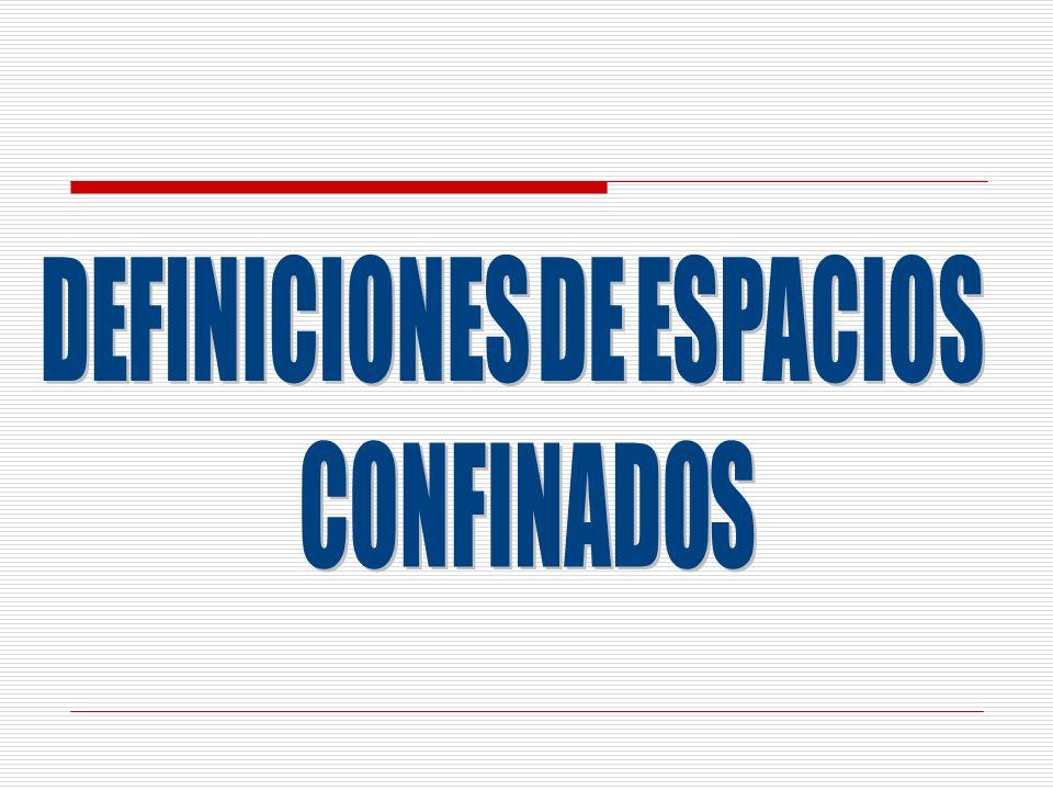 DEFINICIONES DE ESPACIOS