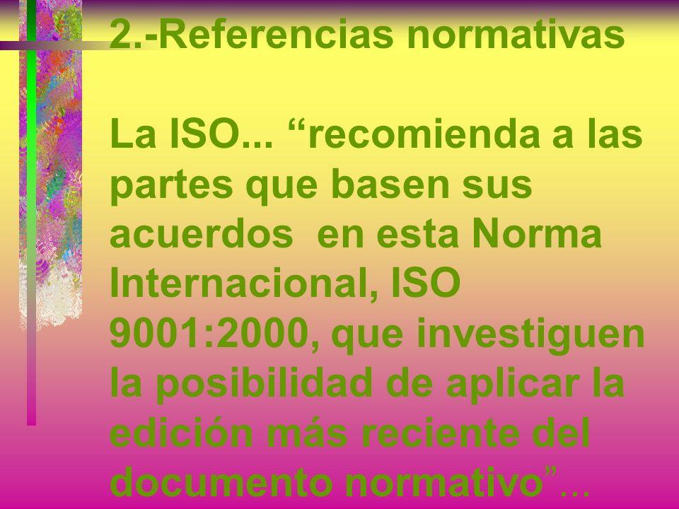 2. -Referencias normativas La ISO