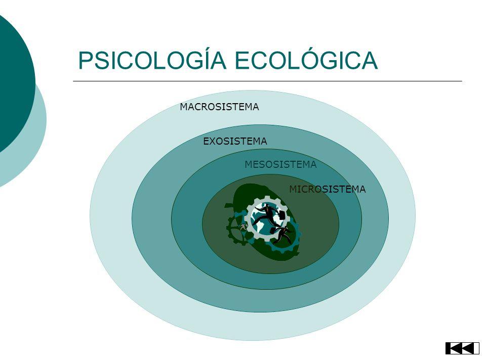 PSICOLOGÍA ECOLÓGICA