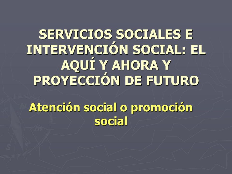 Atención social o promoción social