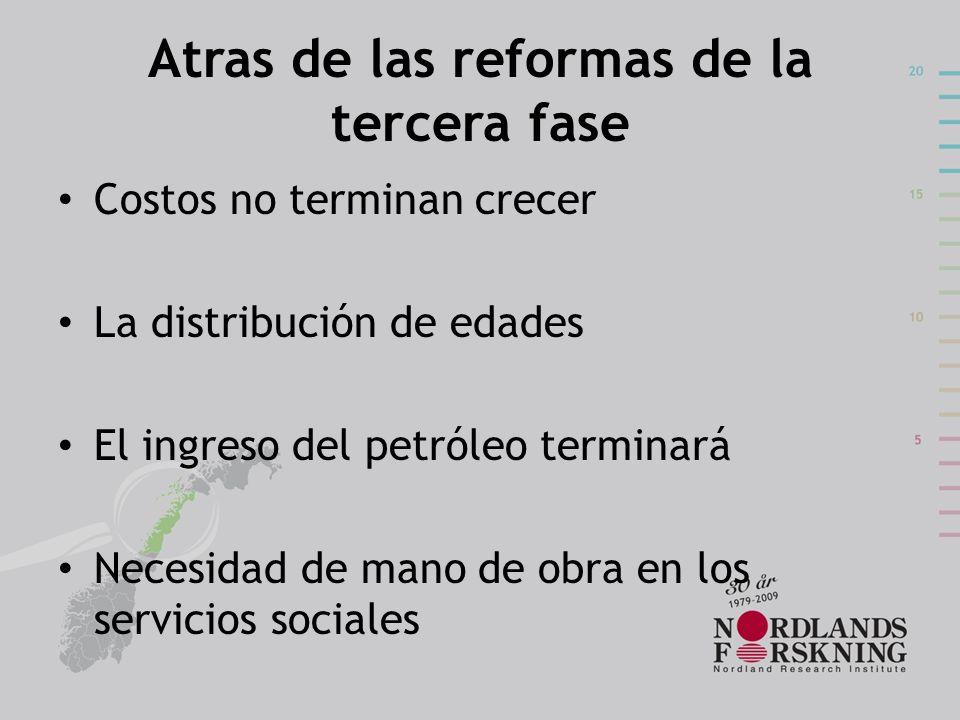 Atras de las reformas de la tercera fase