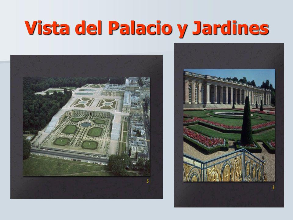 Vista del Palacio y Jardines