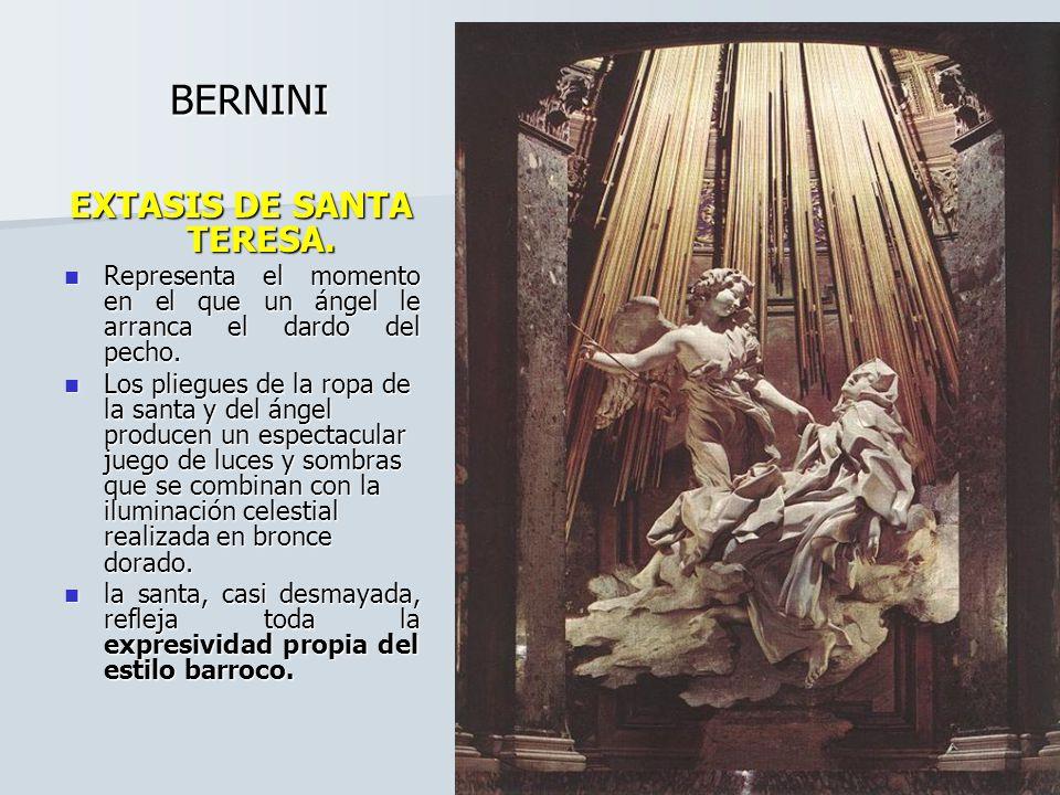 EXTASIS DE SANTA TERESA.