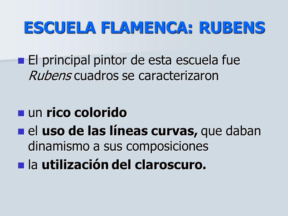 ESCUELA FLAMENCA: RUBENS