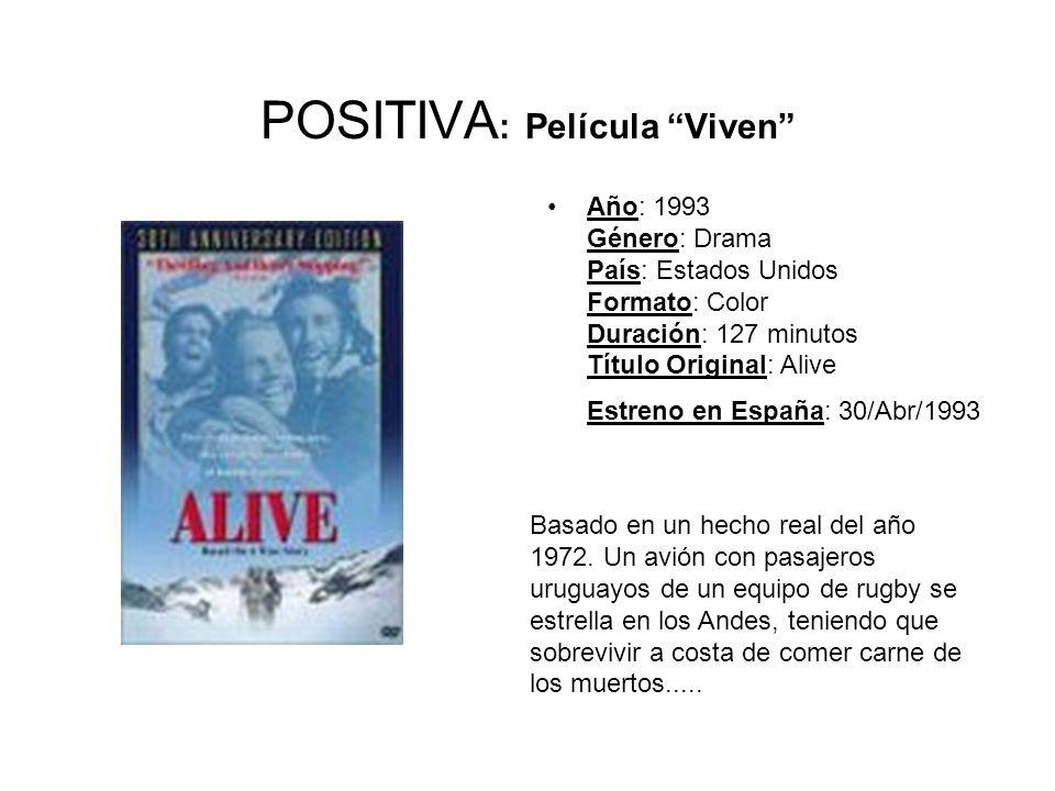 POSITIVA: Película Viven
