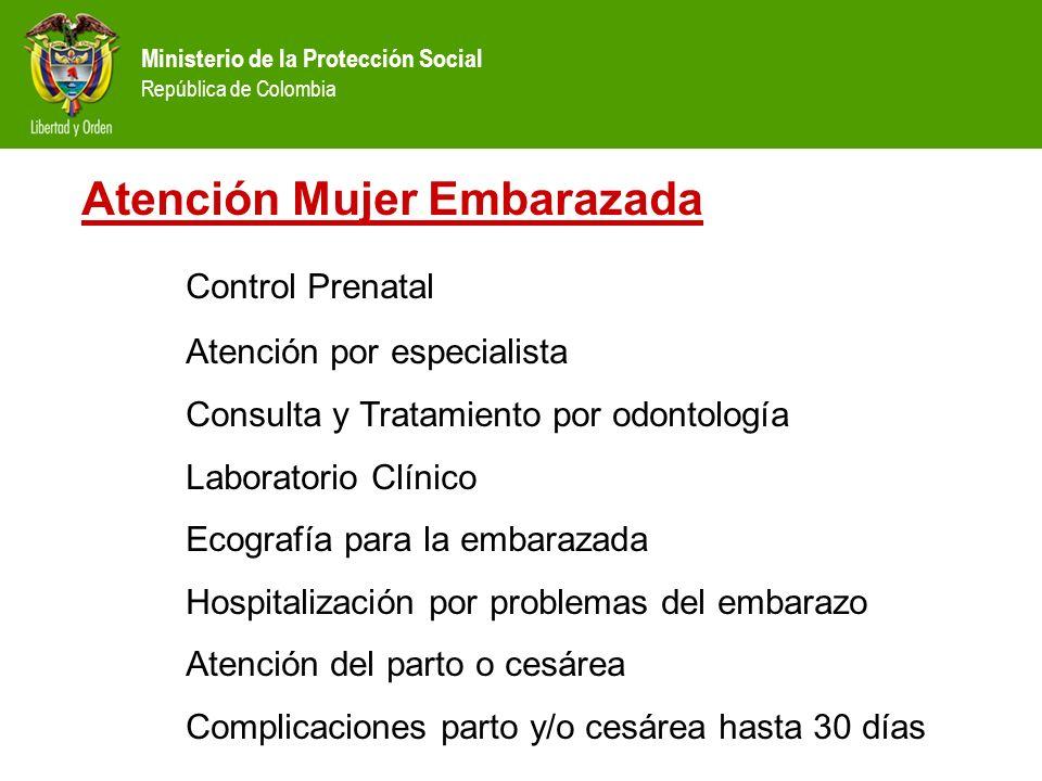 Atención Mujer Embarazada Control Prenatal