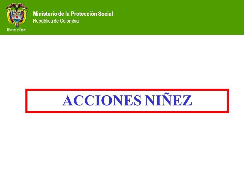 ACCIONES NIÑEZ