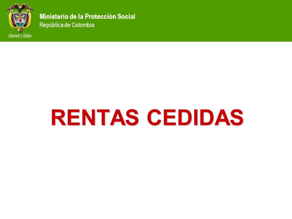RENTAS CEDIDAS