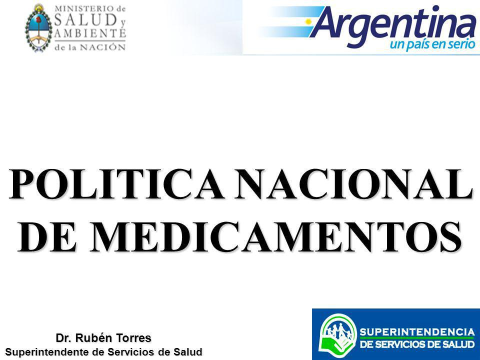 POLITICA NACIONAL DE MEDICAMENTOS