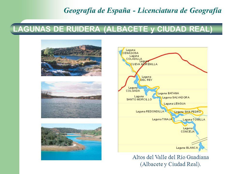 LAGUNAS DE RUIDERA (ALBACETE y CIUDAD REAL)