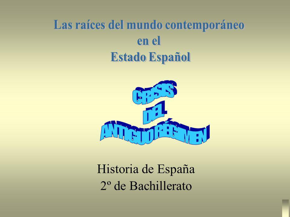 Historia de España 2º de Bachillerato
