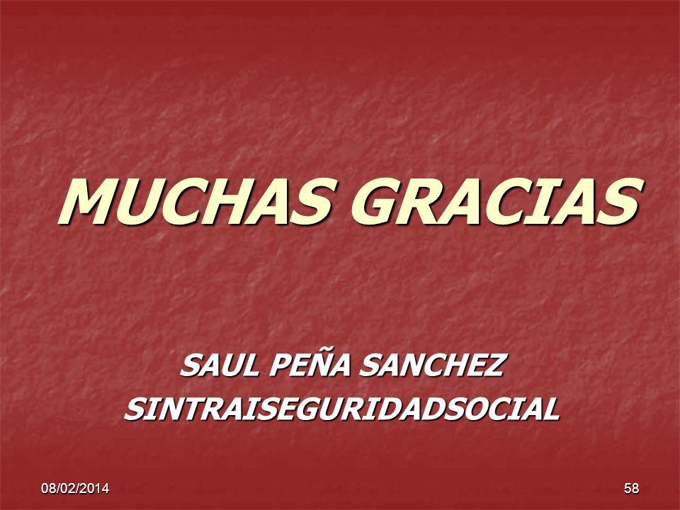 SAUL PEÑA SANCHEZ SINTRAISEGURIDADSOCIAL