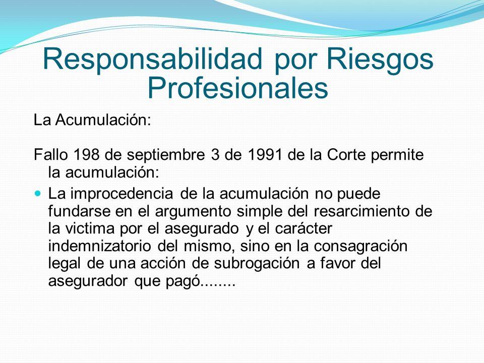 Responsabilidad por Riesgos Profesionales