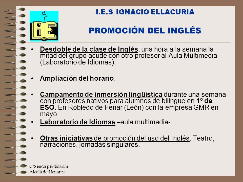 PROMOCIÓN DEL INGLÉS I.E.S. IGNACIO ELLACURIA