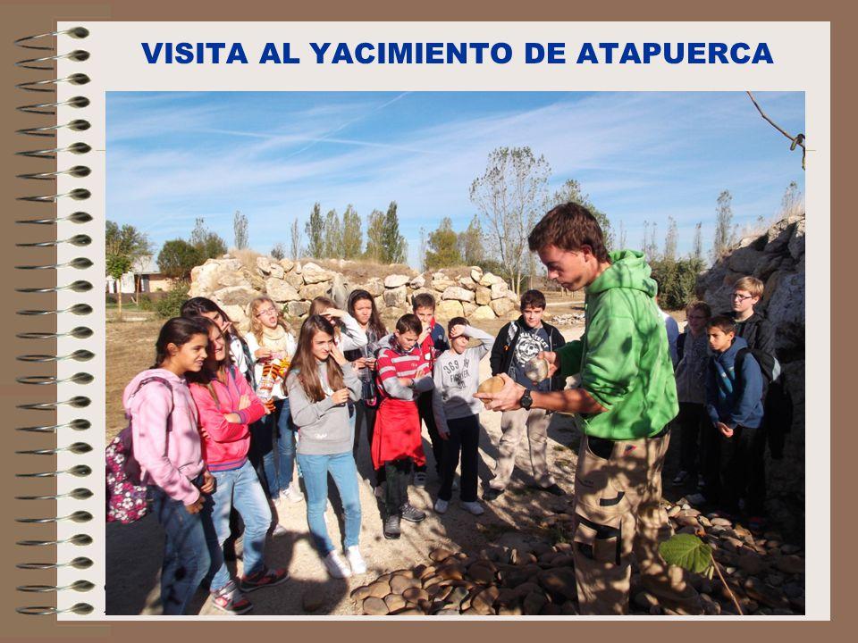 VISITA AL YACIMIENTO DE ATAPUERCA