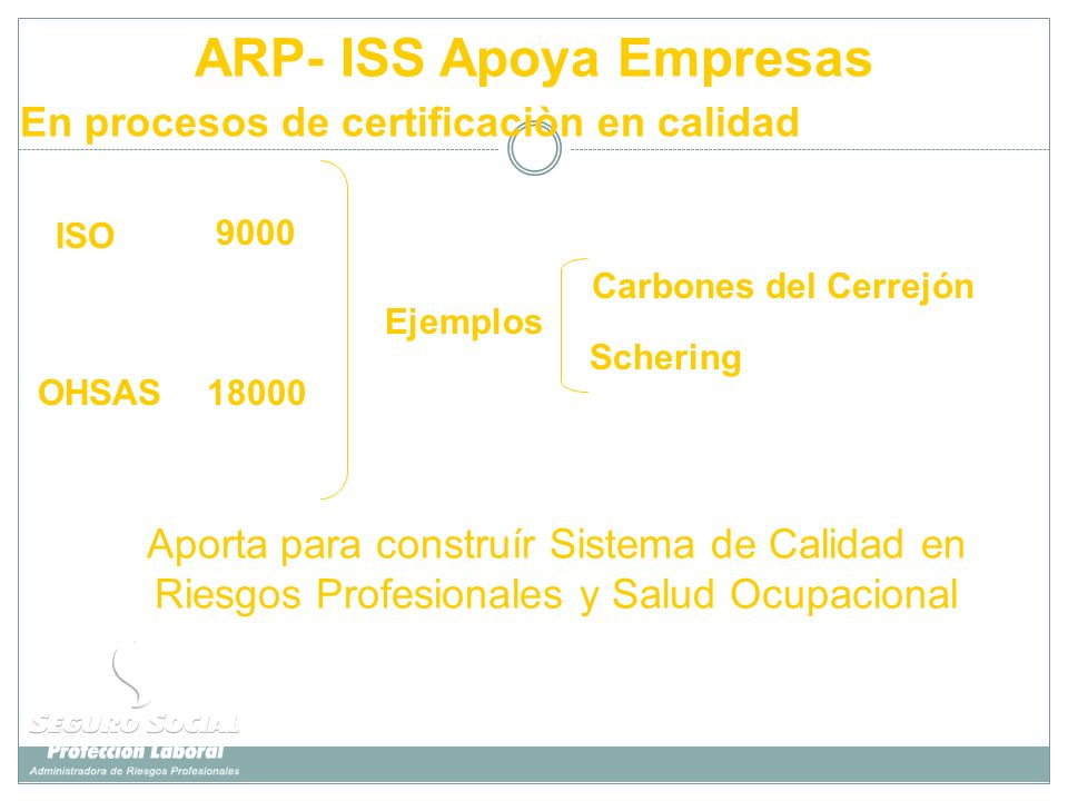 ARP- ISS Apoya Empresas