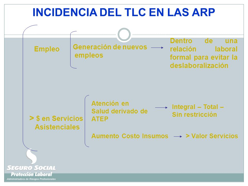 INCIDENCIA DEL TLC EN LAS ARP