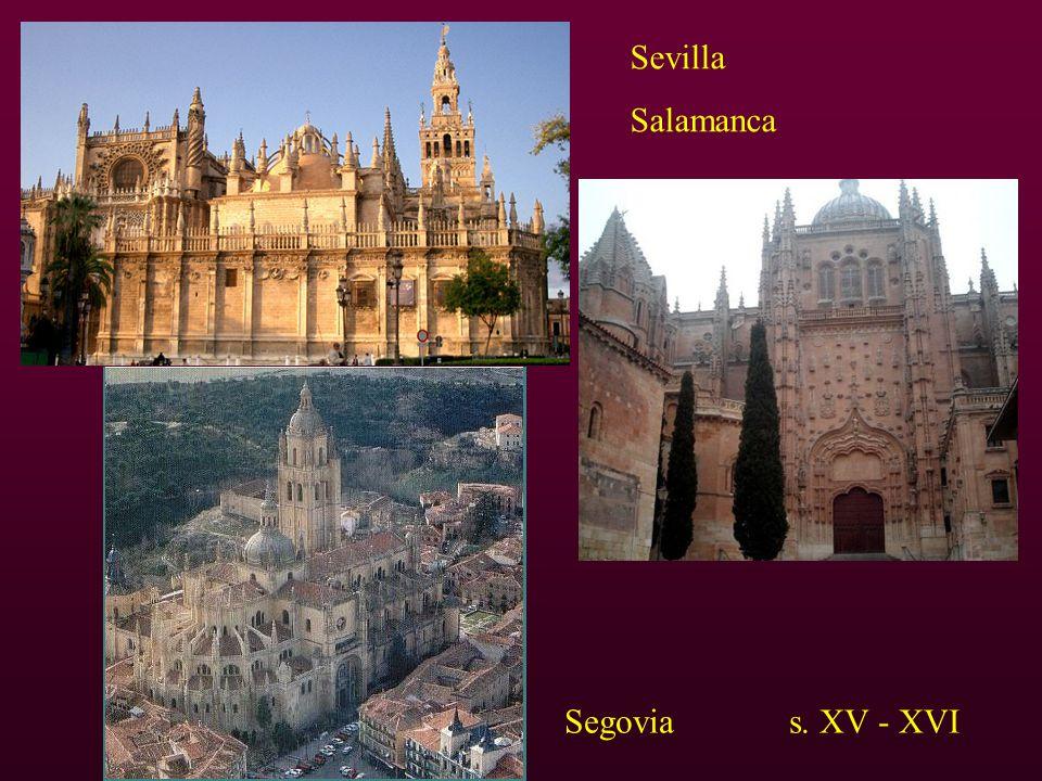 Sevilla Salamanca Segovia s. XV - XVI