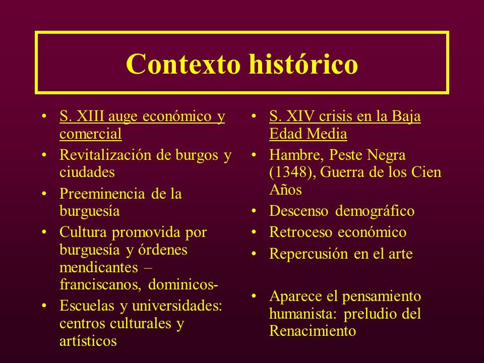 Contexto histórico S. XIII auge económico y comercial