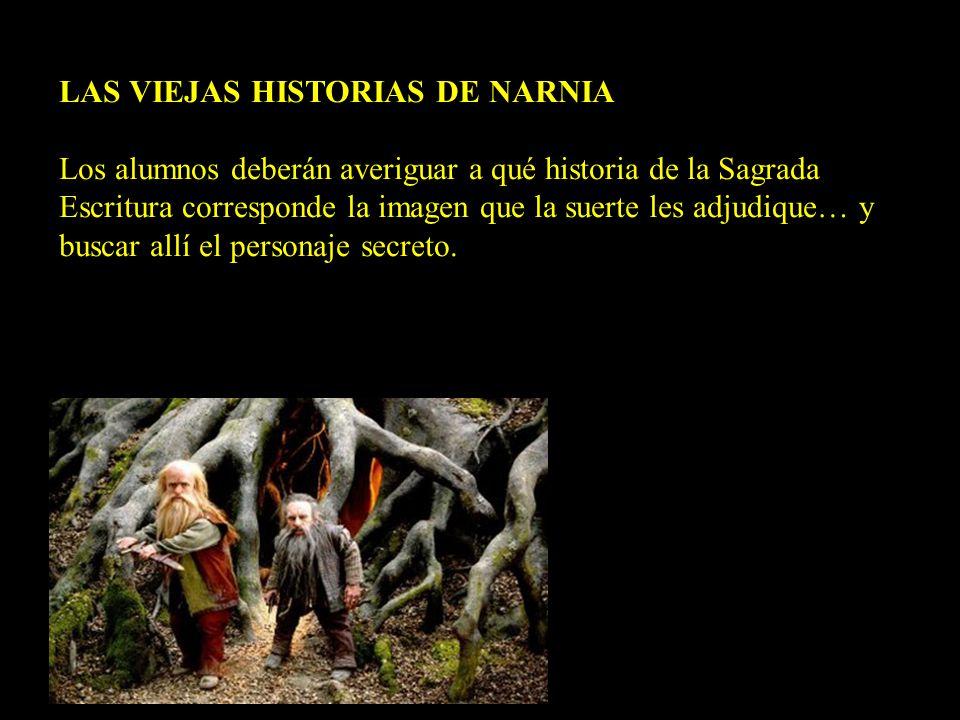 LAS VIEJAS HISTORIAS DE NARNIA