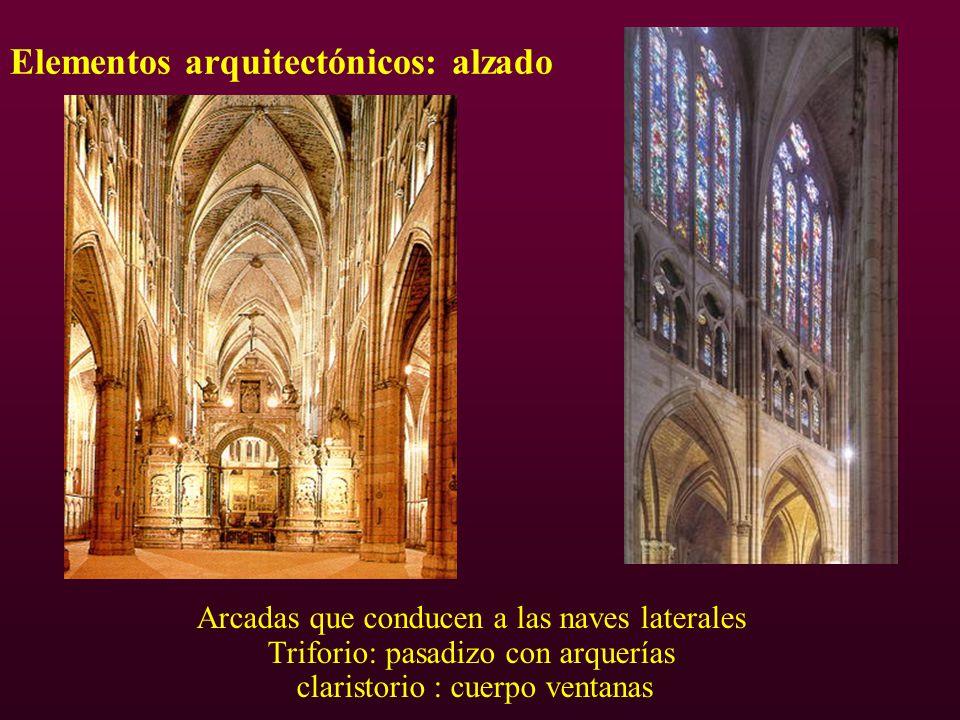 Elementos arquitectónicos: alzado