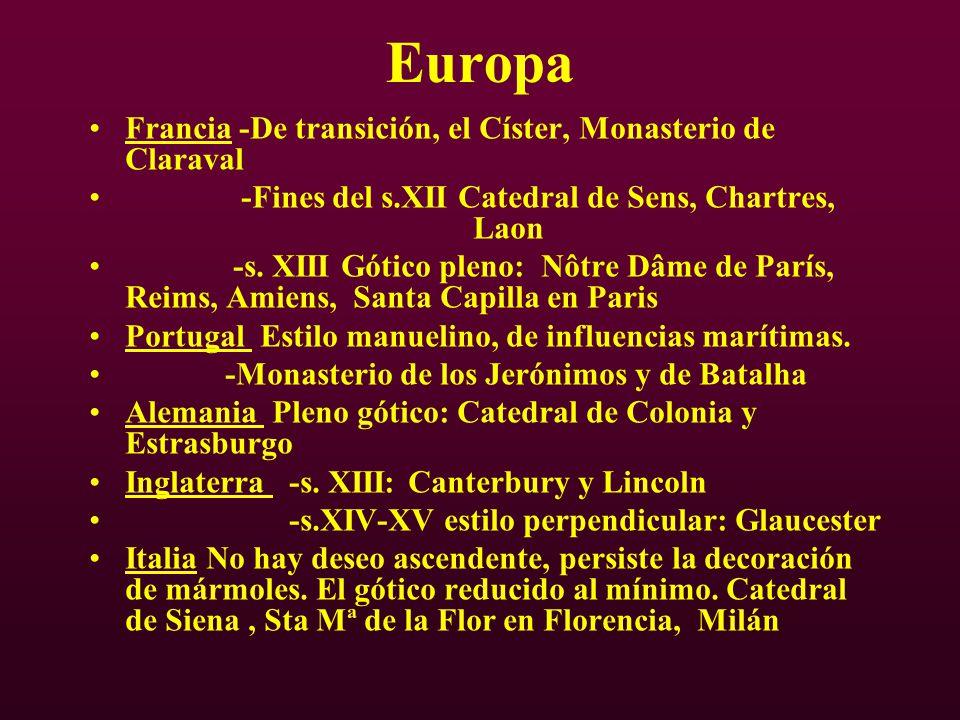 Europa Francia -De transición, el Císter, Monasterio de Claraval