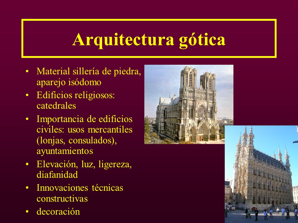 G tico arquitectura ppt video online descargar for Porque la arquitectura es tecnica