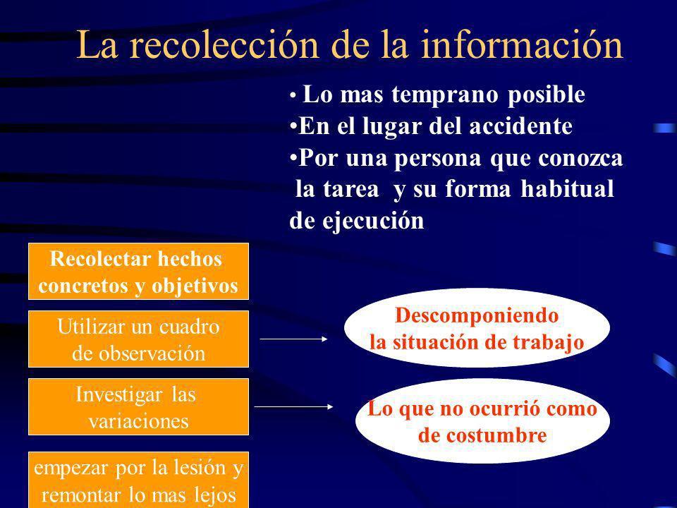 La recolección de la información