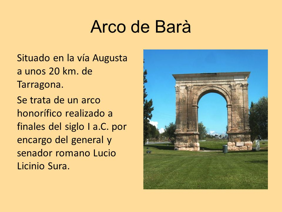 Arco de Barà