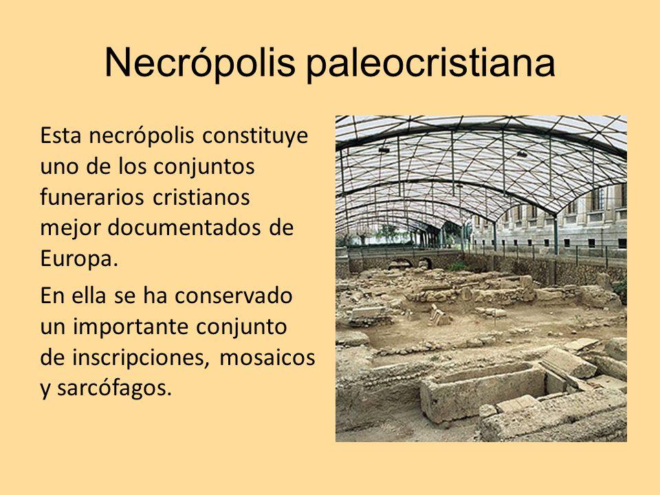 Necrópolis paleocristiana