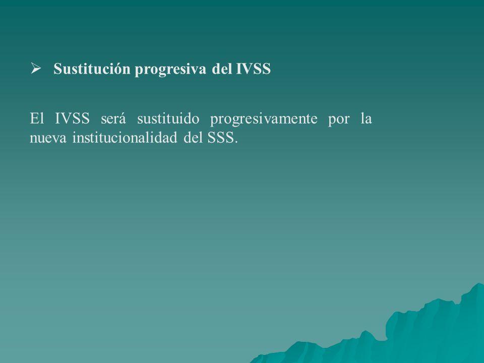 Sustitución progresiva del IVSS