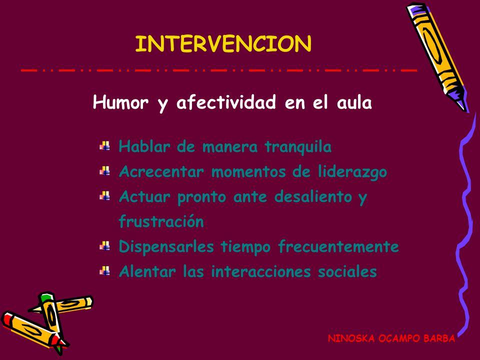 Humor y afectividad en el aula