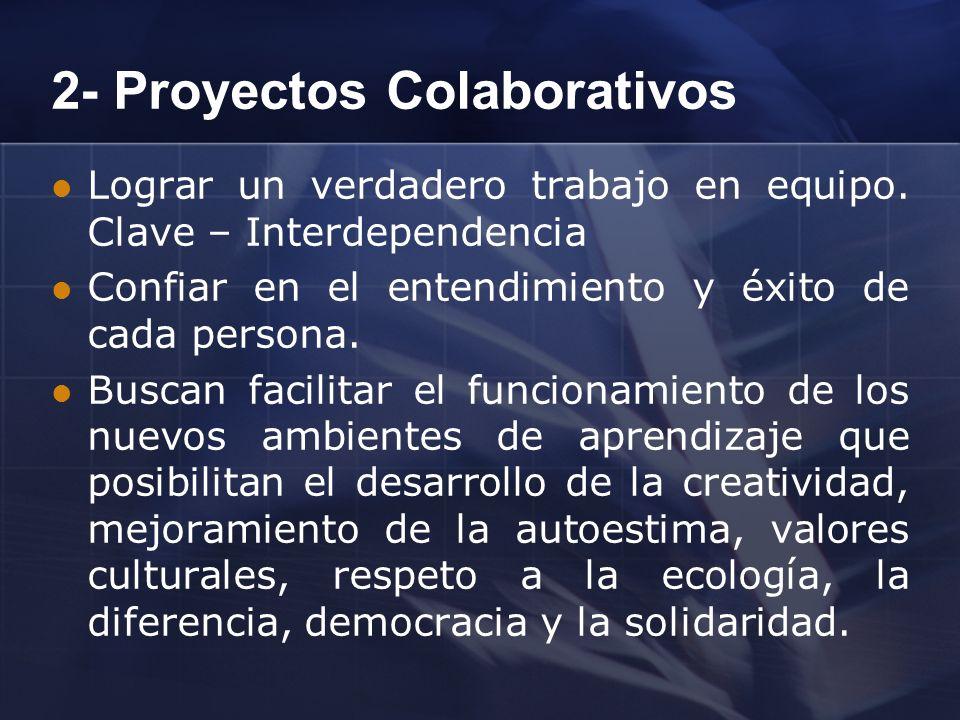 2- Proyectos Colaborativos