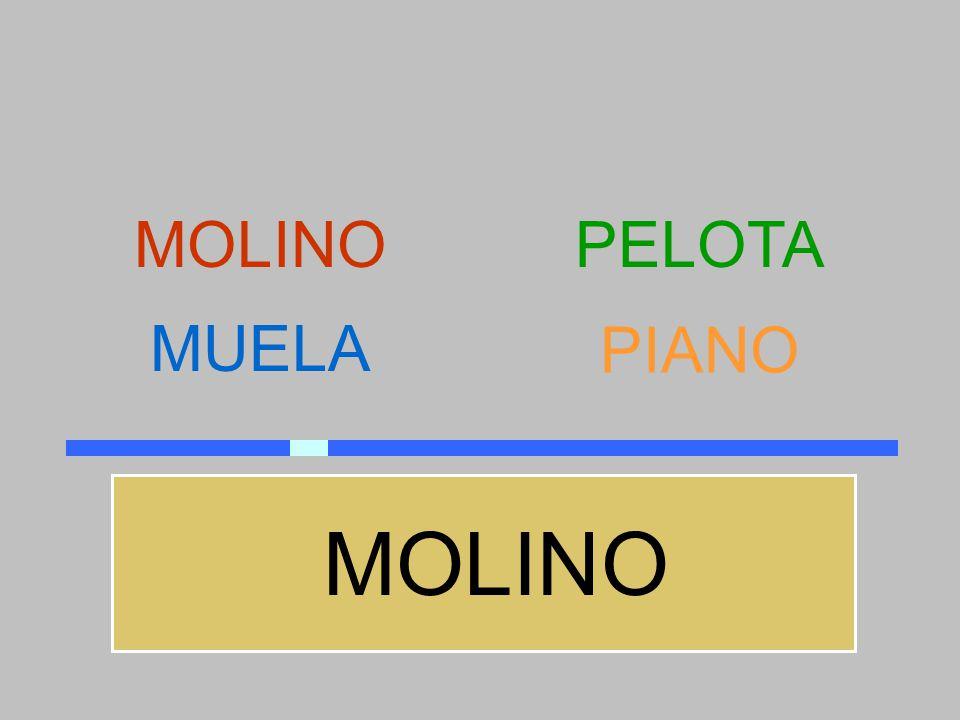 MOLINO PELOTA MUELA PIANO MOLINO