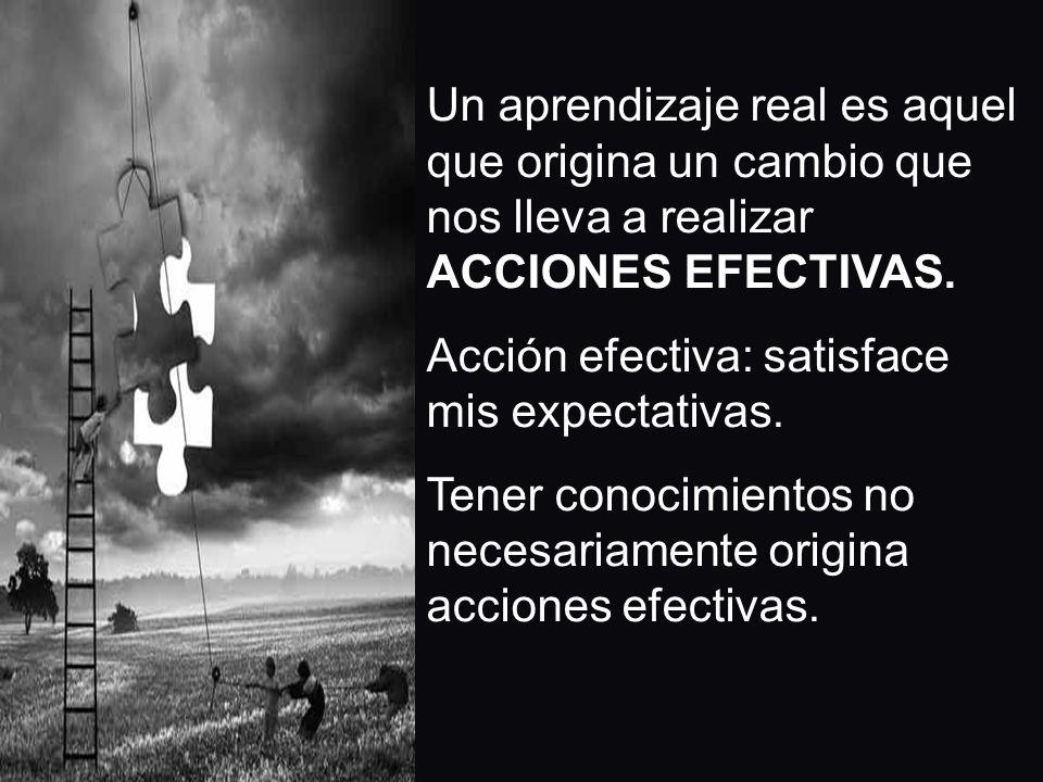Acción efectiva: satisface mis expectativas.