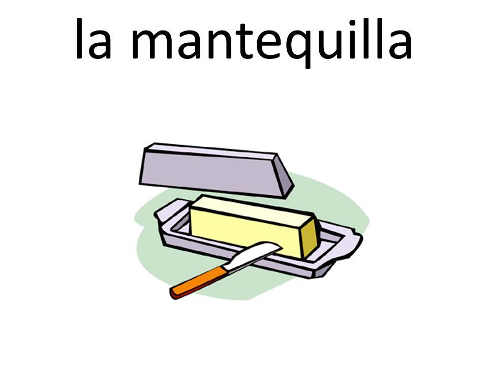 la mantequilla