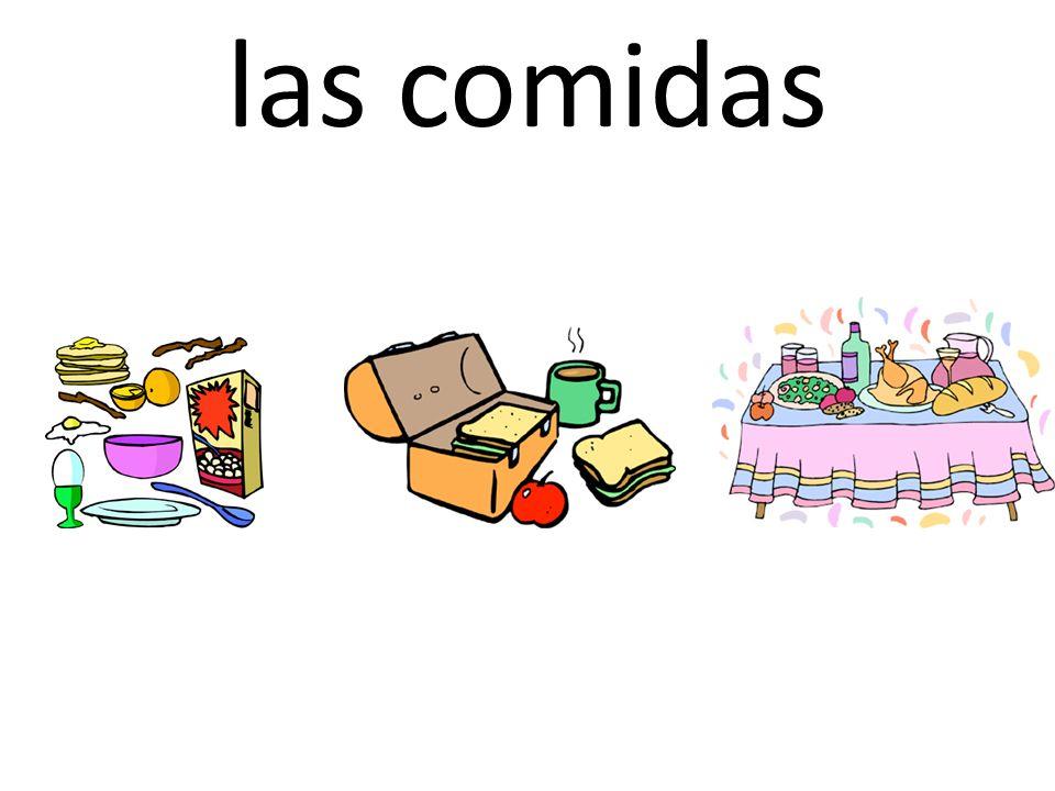 las comidas