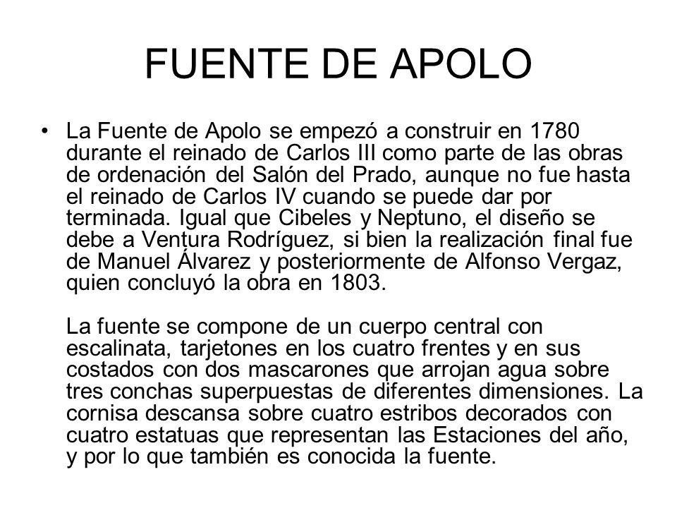 FUENTE DE APOLO